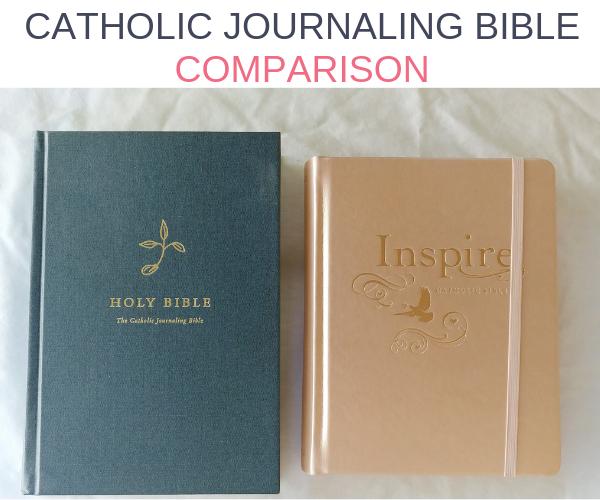 Catholic Journaling Bible comparison.