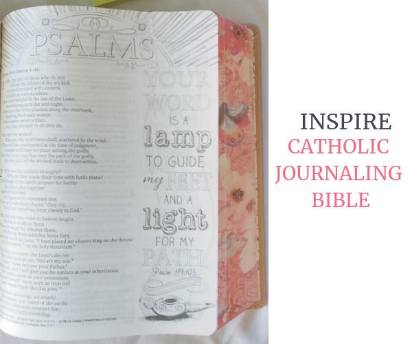Inspire Catholic Journaling Bible