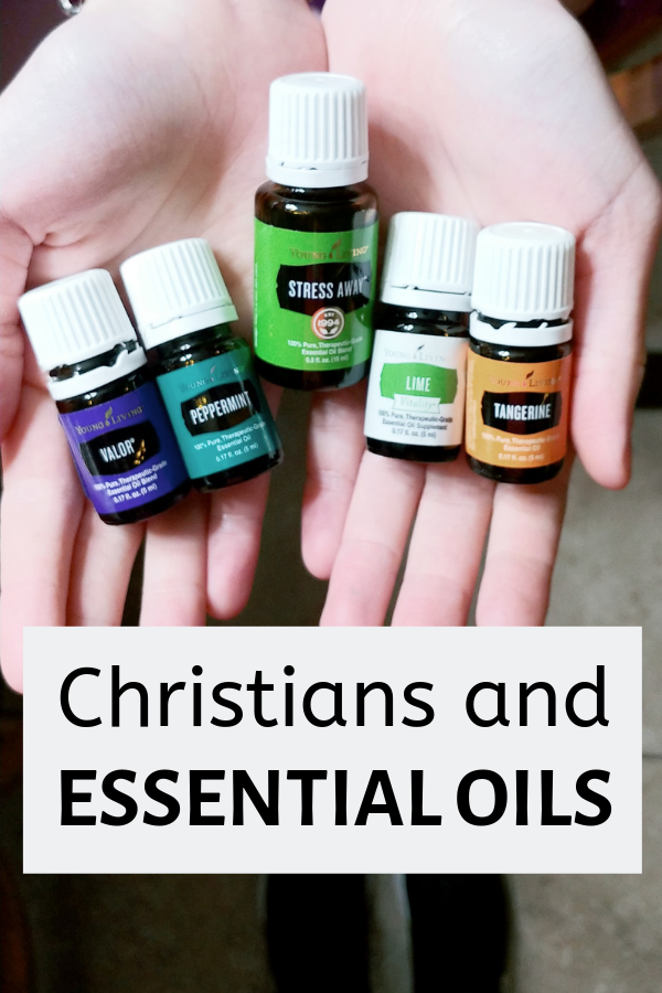 Can Christians use essential oils?