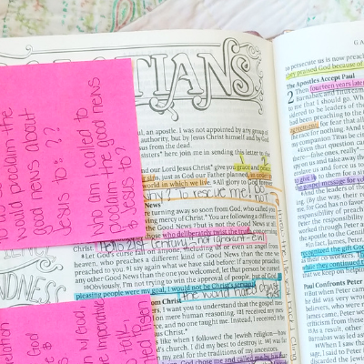 Catholic Journaling Bible: Galatians 1