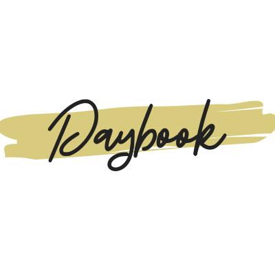 Daybook Online Journal: 2.10.20