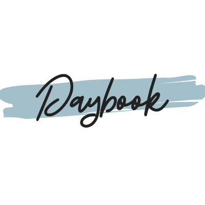 Daybook Online Journal: 2.16.20