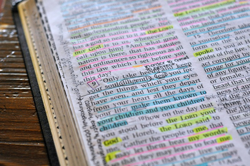 Bible Journaling Tips